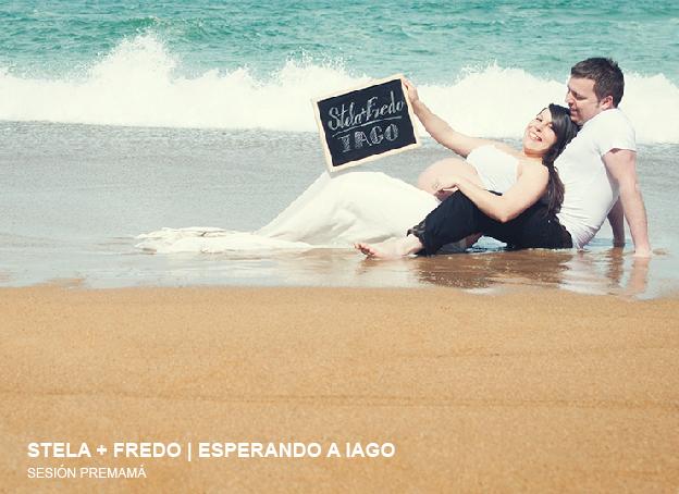 Sesión Premamá Stela y Fredo