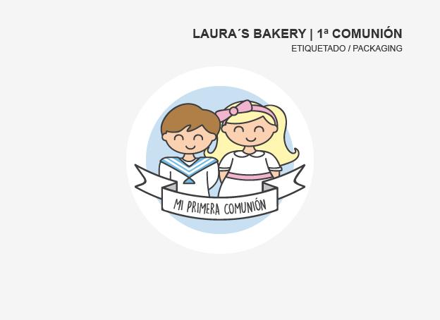 Diseño PRIMERA COMUNIÓN | LAURA´S BAKERY