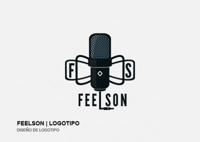Diseño de logotipo | FEELSON