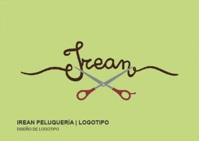 Diseño de logotipo | IREAN PELUQUERÍA