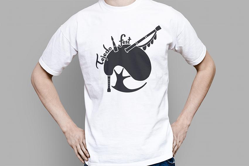 camiseta tejedo