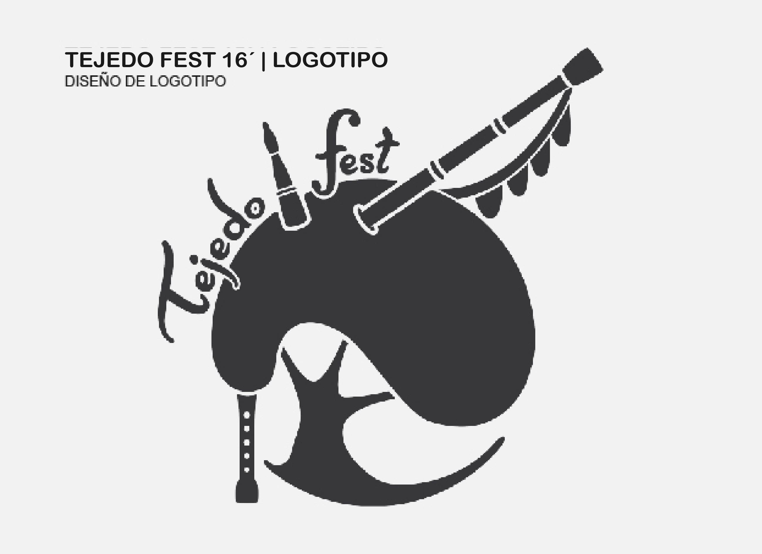 Diseño de logotipo | TEJEDO FEST 16´